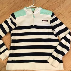 VINEYARD VINES quarter zip pullover
